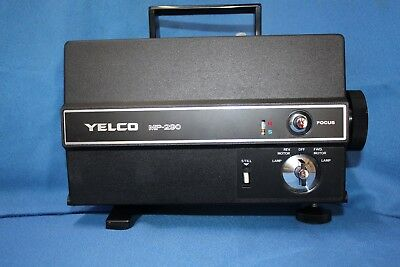 YELCO MP-290 100w DUAL 8mm SILENT MOVIE PROJECTOR SERVICED BY PROJECTOR HEAVEN,