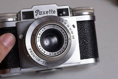 Braun Paxette Vintage Film Camera with Case