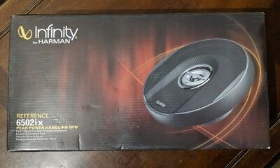"Infinity Reference 6502ix 6.5"" 2-way Coaxial Speakers"