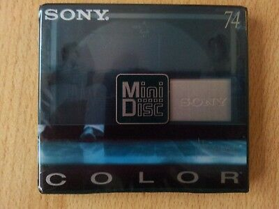 Mini-Disc Recordable MD von Sony MDW74CRB Color 74 NEU originalverpackt