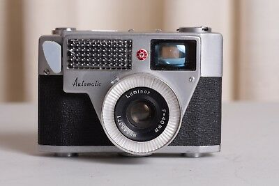 Palmat Automatic 35mm Film Camera with 40mm Lens  and Case