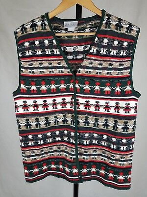 Katies vintage size 14 womens novelty knit sweater vest