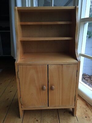 Childrens Wooden Timber Play Kitchen Hutch Perfect For Cubby House