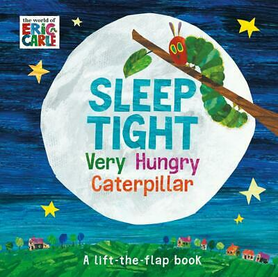 Sleep Tight Very Hungry Caterpillar by Eric Carle Hardcover Book Free Shipping!