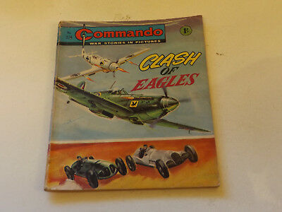 Commando War Comic Number 274,1967 Issue,fair For Age,51 Years Old,very Rare.