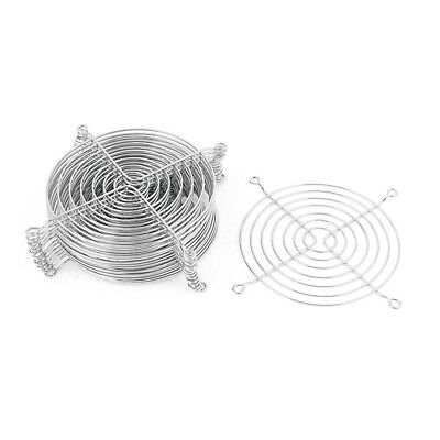Metal Wire Finger Guard Grill 15 Pcs for 120mm Computer PC Cooling Fan O9M5