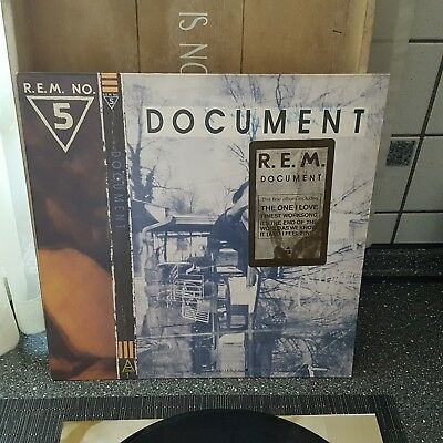 R.E.M Document 1987 LP Vinyl Schallplatte