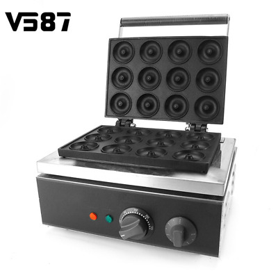 Mini Round Doughnut Maker Machine Use For Baking Making Dishes Tools Accessories