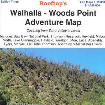 Walhalla Woods Point Adventure Map - Rooftop Maps