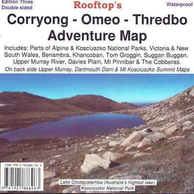 Corryong Omeo Thredbo Adventure Map - Waterproof - Rooftop Maps