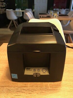 Star TSP650 Thermal POS Receipt Printer ETHERNET/SERIAL AutoCutter 1109W