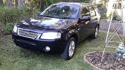 2004 black ford territory ghia $1450 CAN DELIVER