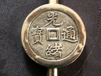 Luen Wo Chinese Export Silver Whistle Argent Massif Chine Sifflet