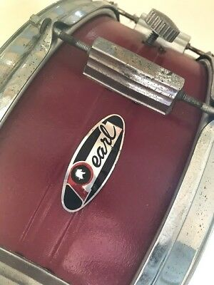 Pearl snare drum, steel shell