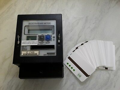 AMPY Prepayment Electric Card Meter & 50 cards