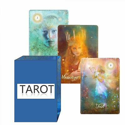 The Good Tarot 78 Card Deck Vintage Set Waite Rider Oracle Divination Board Game