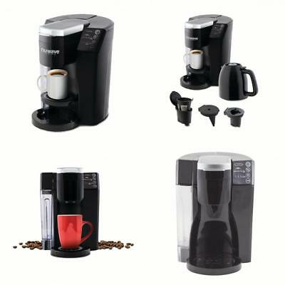 6eef6f4d8825 NuWave 45001 Bruhub 3-in-1 Single Serve Coffee Maker with Removable Drip  Tray
