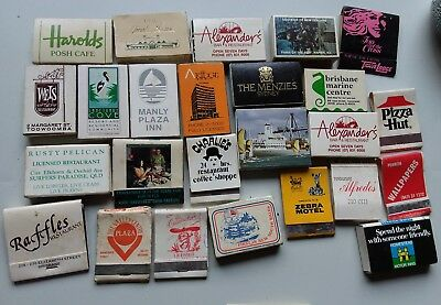 24 Bulk Lot Matchbooks Boxes Including Restaurants Hotels Venues and Shops