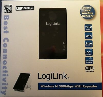 LogiLing Wireless N 300Mbps WiFi Repeater
