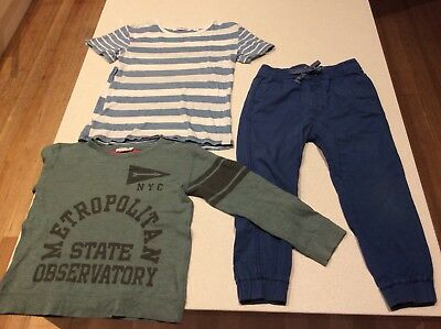 Boy's Country Road long sleeve sweater jumper t-shirt tee jogger pants Size 5