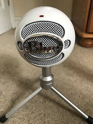Blue Snowball Ice USB Microphone-White