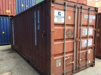 20 Ft/40Ft Hc Sea Worthy, Air Tight, Csc Plated Shipping Container Sale (No Vat)