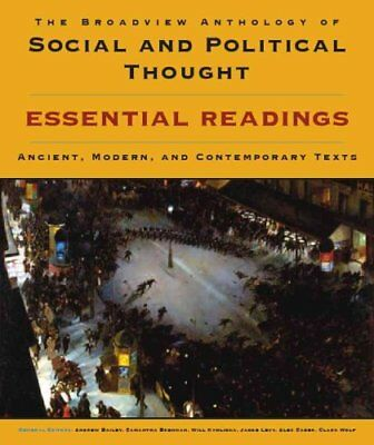 The Broadview Anthology of Social and Political Thought Essenti... 9781554811021
