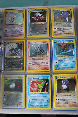 Pokemon Complete Set Neo Discovery Nm Eng.75/75