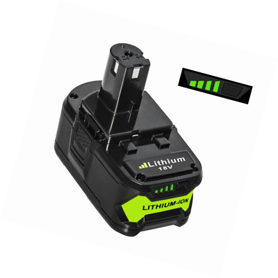 LiBatter 18V 5.0Ah Lithium indicateur de recharge de batterie avec Ryobi ONE+ P1