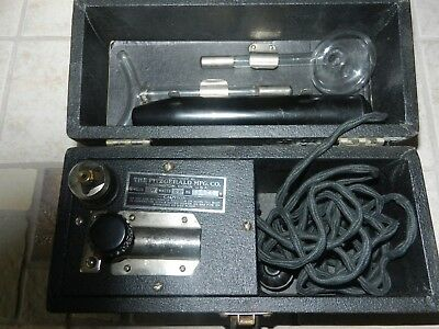 Vintage Quack Medicine Fitzgerald Mfg. Star Violet Ray Electric Healing Machine