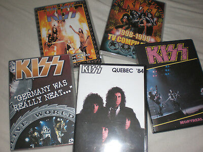Kiss Live Dvd Collection 83-2000 Reunion Psycho Circus Farewell Creatures Lick