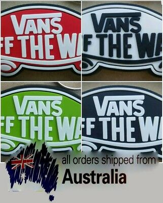 Vans Off The Wall x 2 Shoes Scating Rubber Keyring Quality Cool Clothing