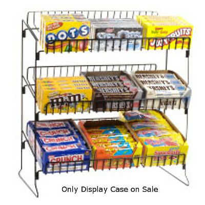 New Countertop Candy Display with angled Shelves 20 in. W x 12 in. D x 24 in. H