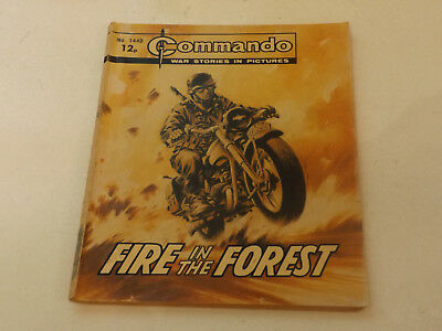 Commando War Comic Number 1440,1980 Issue,good For Age,38 Years Old,very Rare.