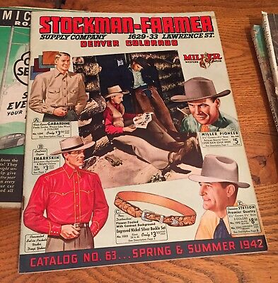 Stockman-Farmer Suppy Company Catalog no. 63 Spring/Summer 1942
