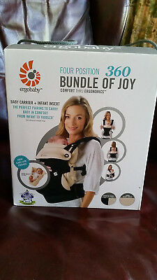 Ergobaby four position 360 baby carrier - Bundle Of Joy - only used twice!