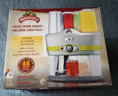 Margaritaville Mixed Drink Maker Model MBMGMD3000-033 New in Box Mixer