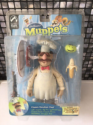 Palisades Toys - The Swedish Chef - The Muppets Jim Hensons Serie 9 - NEU & OVP