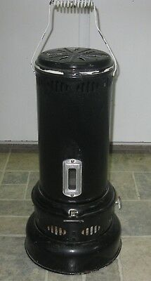 Antique Black Valor Kerosine Outdoor Heater Nice Condition As Is