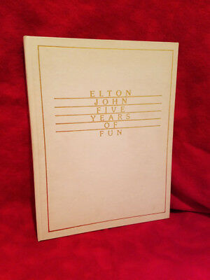 Signed Elton John: Five Years of Fun: August 1970 to August 1975