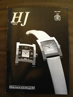 May 2000 Horological Journal Magazine - Barometric Pressure Compensators
