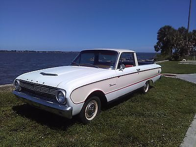 1963 Ford Ranchero  1963 FORD FALCON RANCHERO. NICE OLDER RESTORATION. NO RESERVE!!