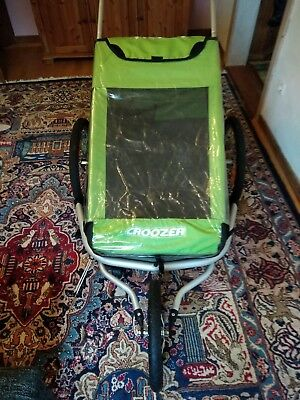 Fahrradanhänger CROOZER Kid for 2 Buggy Set Kinderwagen