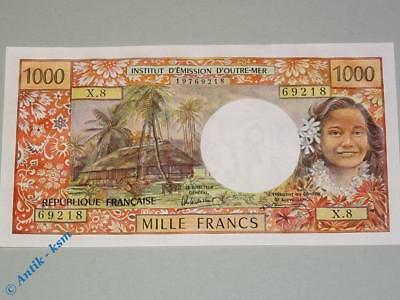 Banknote Tahiti , Papeete , 1.000 Cents Francs , Rare Note , see details  UNC