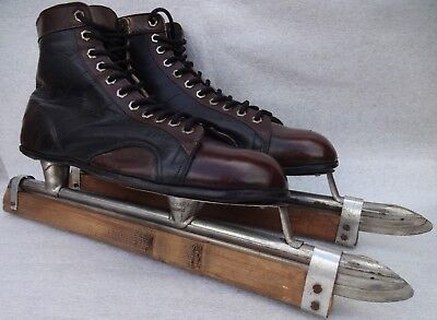 Vintage Polar Ice Skates Eu 45 Uk 10.5 Made In Germany ?