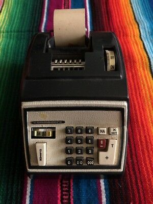 Vintage COMMODORE  Computer/Adding Machine Business Machine 202 Electric Not Wrk