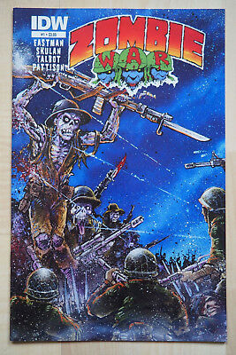 Zombie War 1 (IDW) US Comic - Horror - Kevin Eastman - Eric Talbot