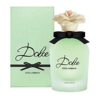 Dolce & Gabbana DOLCE Floral Drops 50ml EDT Spray D&G For HER NEW SEALED BOX