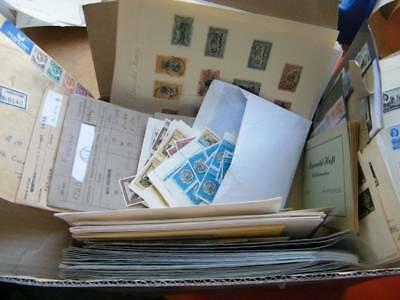 World super box. Stamps, Covers, Pages, Approval Books etc. 963