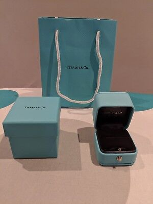 Tiffany & Co Engagement Ring Box And Bag